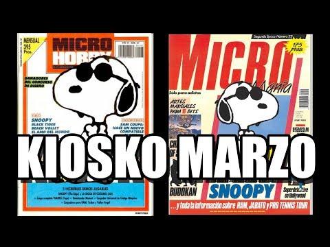 KIOSKO MARZO MICROMANIA MICROHOBBY MARZO