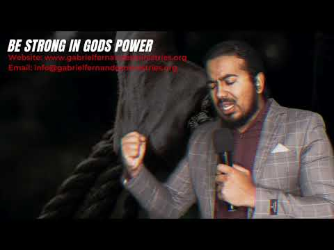 BE STRONG IN THE LORDS POWER AND YOU WILL WIN, POWERFUL MESSAGE & PRAYERS