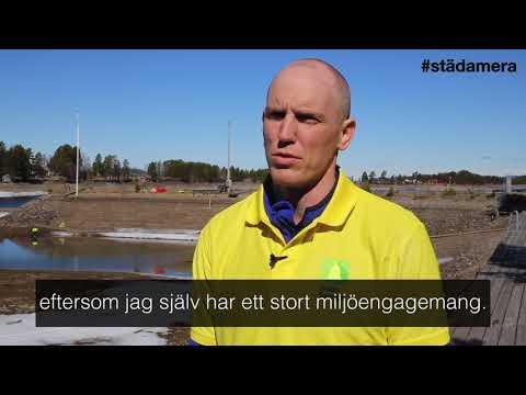Björn Ferry engagerar sig i #städamera