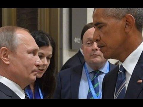 Tại sao Obama không dám trừng phạt đích danh Putin?