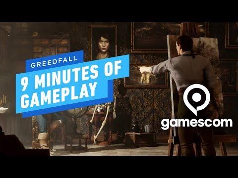 9 Minutes of GreedFall Gameplay - Gamescom 2019 - UCKy1dAqELo0zrOtPkf0eTMw