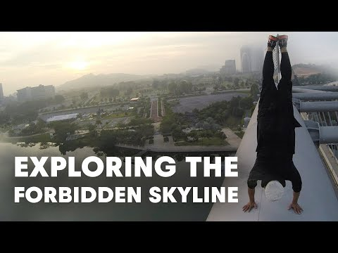 Exploring the Forbidden Skyline in Virtual Reality   Introducing the Cast of URBEX