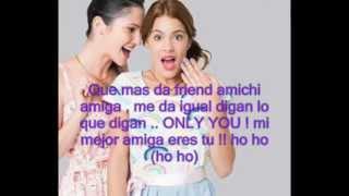 Junto A Ti Letra Violetta Youtube