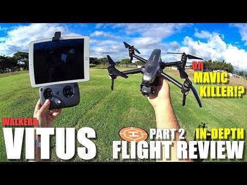 DJI MAVIC KILLER?! - WALKERA VITUS In-Depth Flight Test Review & BEE ATTACK! - UCVQWy-DTLpRqnuA17WZkjRQ