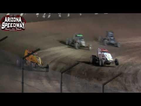 Az Speedway USAC CRA Main  10 4 2021 - dirt track racing video image