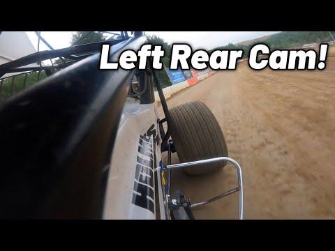 Tanner Holmes Oregon Speedweek Qualifying at Coos Bay Speedway! (360 Sprint Car) - dirt track racing video image
