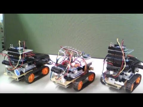 【東芝】PUF:ロボットによるデモの様子/【TOSHIBA】 PUF:Configuration of demonstration using robots