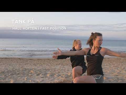 """Idas träningsskola - yoga, övning """"ödlan"""""""