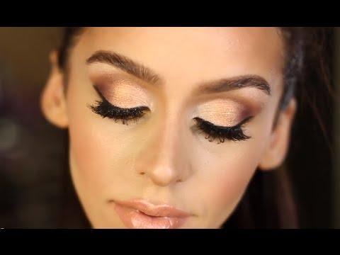 Gold & Bronze Smokey Eye Makeup Tutorial! - UC21yq4sq8uxTcfgIxxyE9VQ