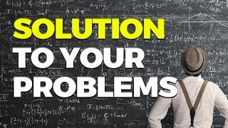 SOLUTION To Your PROBLEMS - Great Advice by Mufti Menk