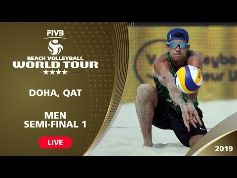 Doha 4-Star 2019 - Men Semi-Final 1 - Beach Volleyball World Tour