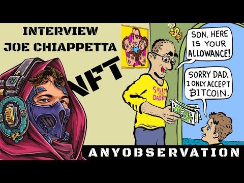 Art Vending machine | NFT Drop | Interview with Joe Chiappetta