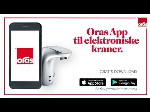 ORAS App for berøringsfrie kraner