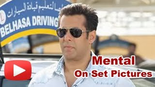 Salman Khan Shoots For Mental- On Set PICTURES