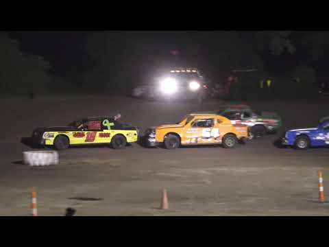 Street Stock Feature at Silver Bullet Speedway, Michigan on 06-27-2020!! - dirt track racing video image