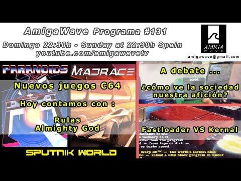 Programa #131 - Juegos C64 por Sputnik World, cómo ve la sociedad el retro y fastloaders vs kernal.