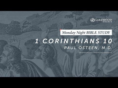 1 Corinthians 10  Paul Osteen, M.D. (2019)