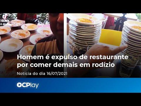 Homem é expulso de restaurante por comer demais em rodízio