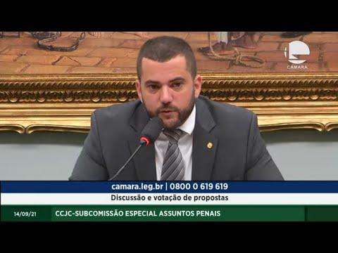 CCJC - Subcomissão Especial Assuntos Penais - Discussão e votação de propostas - 14/09/2021