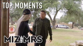 Miz & Mrs:  Mike And Maryse Toss Spears, Throw Tomahawks | S1 Ep19 Top Moments | on USA Network