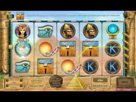 Mighty Sphinx - Ægyptisk spilleautomat på nettet