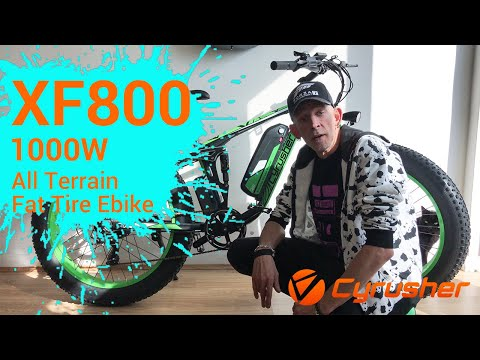 2019 Cyrusher XF800 Electric Fat Tire Bike Reviews by Glen Orpheus, Part 2