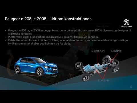 Webinar e-208 & e-2008 - teknisk præsentation