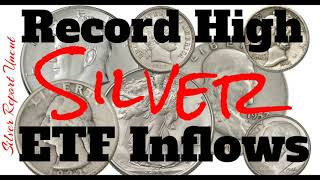 Silver ETF Inflows Reach Record High! And How To Position Yourself For Profit In A Recession