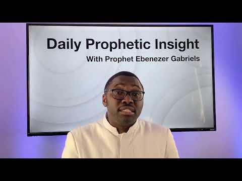 Prophetic Insight Jan 18th, 2021
