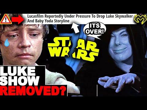 Luke Skywalker TV Series CANCELLED? Disney Plans To REMOVE Luke Skywalker and Grogu Star Wars Show?
