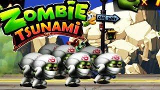 Zombie Tsunami - American Ninja Warrior [Android Gameplay, Walkthrough]