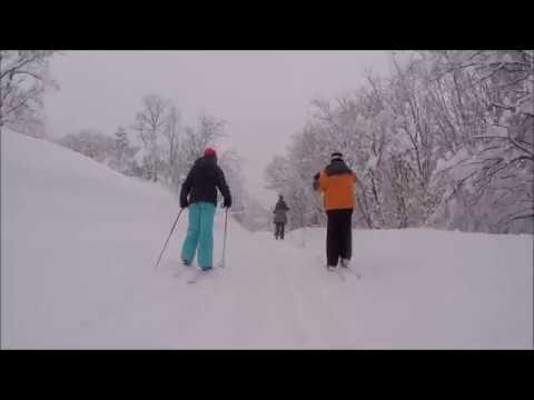 XC Skiing North Fork Park Trails Day 2017