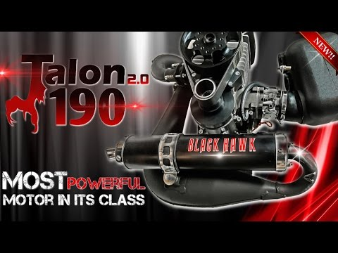 NEW Talon 190 Paramotor From BlackHawk - A Demo & Review of Features!