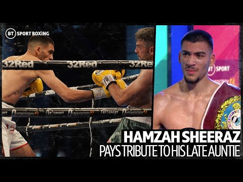 Hamzah Sheeraz dedicates win to auntie who passed away after COVID-19 complications 10