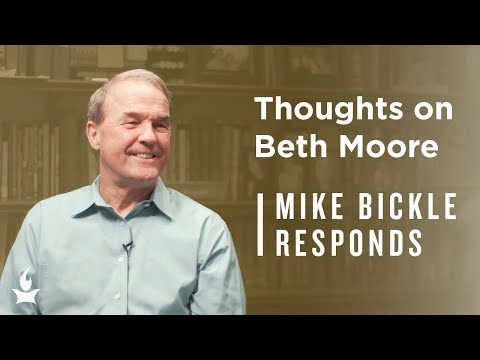 Beth Moore, John MacArthur, and Should Women Preach?  Mike Bickle Responds