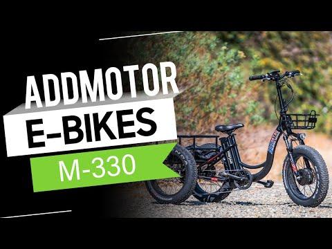 Addmotor MOTAN M-330 Electric Trike Tricycle 500W 3 Wheel Electric Bicycle 20
