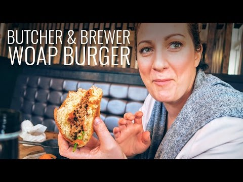 Butcher & Brewer Petone WOAP Burger & Petone Community Board Meeting