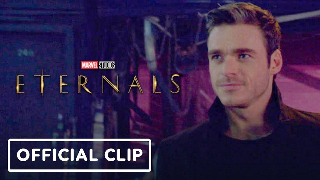 "Marvel Studios' Eternals – Official ""Ikaris"" Clip (2021) Richard Madden, Kit Harrington"
