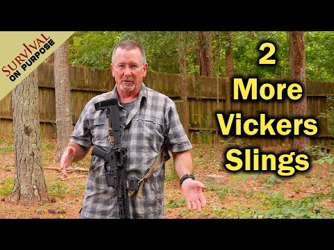 Vickers One Sling and 221Sling - Tactical Sling Options From Blue Force Gear