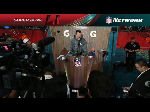 Best of Tom Brady from Opening Night | NFL | Super Bowl LI Opening Night