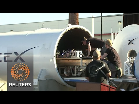Dutch and German teams win Spacex Hyperloop pod competition