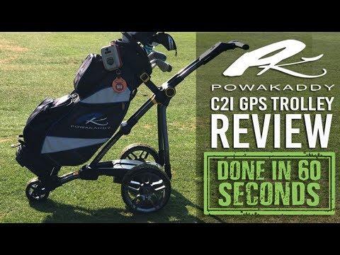 POWAKADDY C2i GPS REVIEW   DONE IN 60 SECONDS