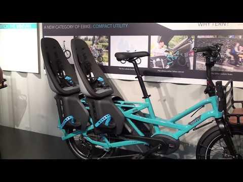 Tern GSD Electric Cargo Bike w/ 2 Batteries!   Electric Bike Report