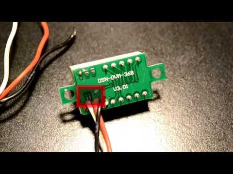 DIY How To Make Mini Pocket Variable Power Supply With Led Voltmeter