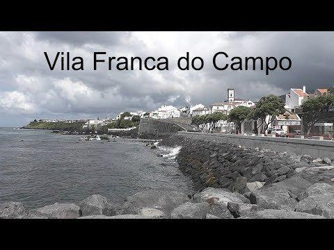 AZORES: Vila Franca do Campo town - São Miguel Island