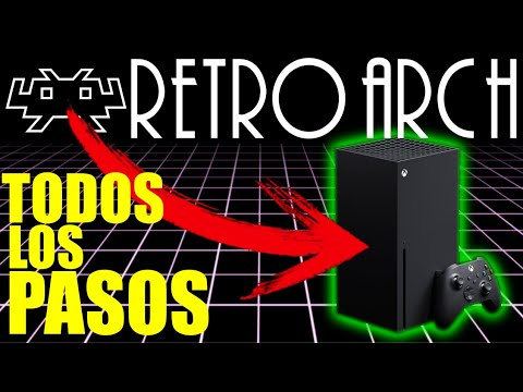 [TUTORIAL] Instala RETROARCH en XBOX SERIES X