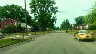 Summer Evening  Drive in Detroit, Michigan, U.S.A. 🇺🇸