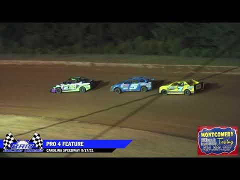 Pro 4 Feature - Carolina Speedway 9/17/21 - dirt track racing video image