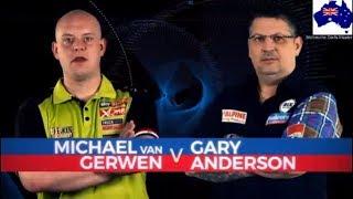 2019 Melbourne Darts Masters Quarter Final  van Gerwen vs G.Anderson