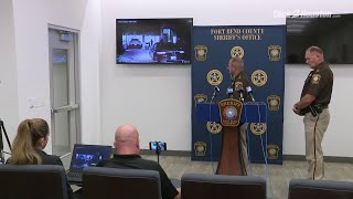 Fort Bend COunty Sheriff Troy Nehls talks about Elandon Roberts' traffic stop